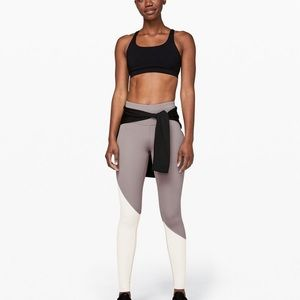 Lululemon speed wunder asymmetrical leggings